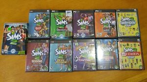 SIMS 2 Bundle with 8 Expansions & 2 Stuff Packs