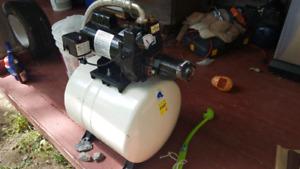 1/2 hp convertible jet pump w/ 53 leter pressure t