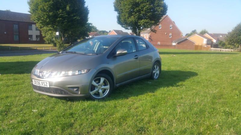 Honda Civic 1 8 Petrol 2006 12 Months Mot 5 Door Car 2 Keys In