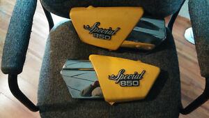 79-80 yamaha xs850 side covers Special 850