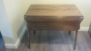 Primitive Drop Leaf Table For Sale