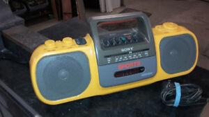 Portable Sony boombox Sport