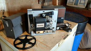 Super 8 Video Camera and Projector