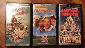 rare 3 special edition vhs - Animal House,Caddyshack,American G West Island Greater Montréal image 1
