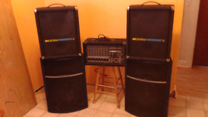 Very solid PA system for $780 OBSO