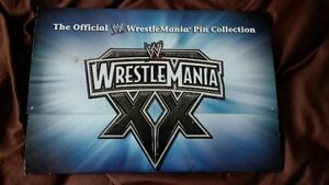 wrestlemania pin set