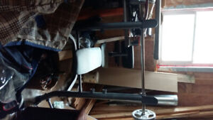 Weight bench and weights 140.00 or best offer.