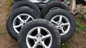 17 inch jeep rims and tires BFG