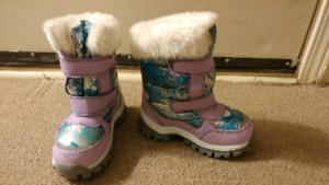 Toddler Girl Size 9 Snow Boots