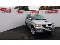 2006 06 MITSUBISHI SHOGUN SPORT 2.5 TD WARRIOR.SAME OWNER SINCE 2008.MOT 08-2018