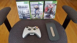 Xbox360 LOT Games-controller - harddrive