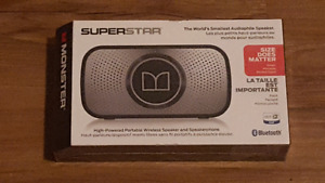 Brand new monster superstar wireless speakers