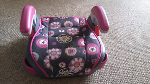 Girls Graco booster seat