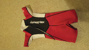 KIDS HYPERFLEX NEOPRENE SHORTY WET SUIT