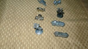 "VINTAGE ""8 ORIGINAL MONOPOLY GAME PIECES"" PEWTER Kitchener / Waterloo Kitchener Area image 6"