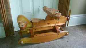 Antique child's airplane