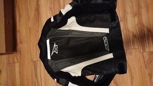 Axo byway leather motorcycle jacket.