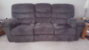 FOR SALE: Recliner Couch & Love Seat