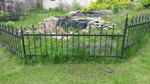 Wrought Iron Fence For Sale