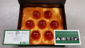 Set of 7 DBZ Dragonballs