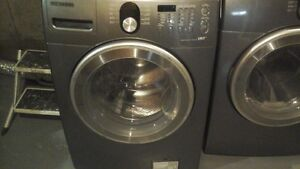 Samsung Front-load Washer and Dryer.
