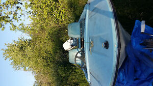 16 foot Starcraft fishing boat with 40 hp evinrude
