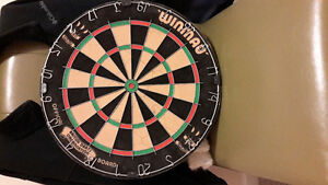 official dart board in perfect shape