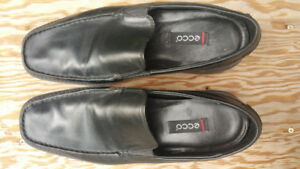 Ecco Men's  dress  slip on shoes mocs loafers NEW Size 11/ 11.5