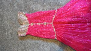 Beautiful Tiffany design grad dress