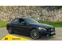 2018 Mercedes-Benz C-CLASS C250d 4Matic AMG Line Premium Auto Saloon Diesel Auto