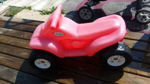 Little Red 4 Wheeler
