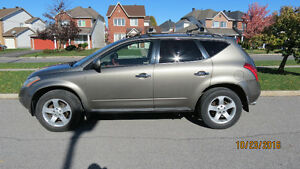 2003 Nissan Murano SL AWD ONLY 123,000 KM | NO ACCIDENT| V CLEAN