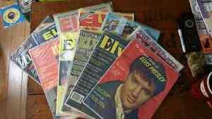 11 Vintage 1970s magazines Elvis Presley