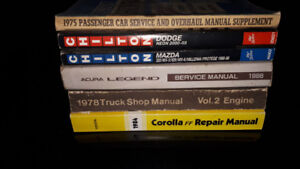 Used Chilton and factory service/repair manuals