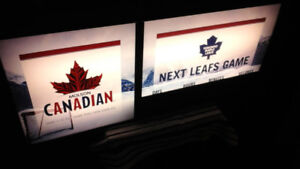 Countdown  to  the  game  Advertising  Collectable Maple Leafs