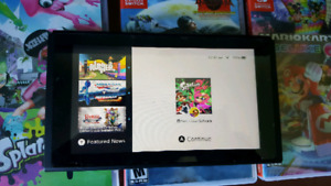 Brand New Nintendo Switch With 3 Games and Accessories