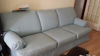 ~like new~3 seat couch sofa removable cloth customer made