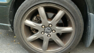 "Volvo 17"" Set of Volan Wheels 5x108"""