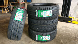 New 225/45R18 summer tires, $420 for 4