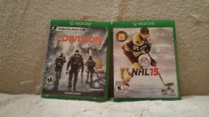 Jeux Xbox One : Tom Clancy The Division et NHL 15