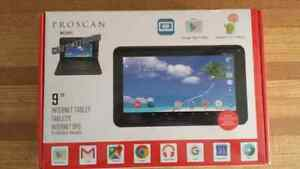 "Brand new proscan 9"" tablet with keyboard and case"