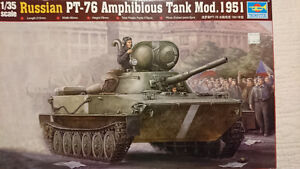 Trumpeter 00379 1/35 Russian PT-76 mod 1951 plastic model kit