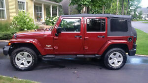2010 Jeep Wrangler Sahara unlimited VUS