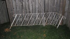 Older Wrought IRON RAILING Unit
