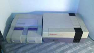 Broken Nes and Snes Consoles Only Need Repair For Parts