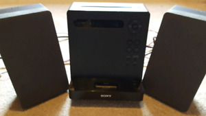 Sony CD mp3 ipod aux input player