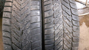 2 pneus 225/60R16 goodyear