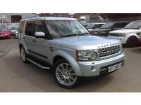 2010 LAND ROVER DISCOVERY 4 SDV6 HSE STUNNING ZAMBESI SILVER JUST 36000 MIL