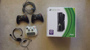 250GB Xbox 360 and 43 Games