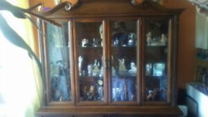 2 Piece Solid China Cabinet $400 OBO